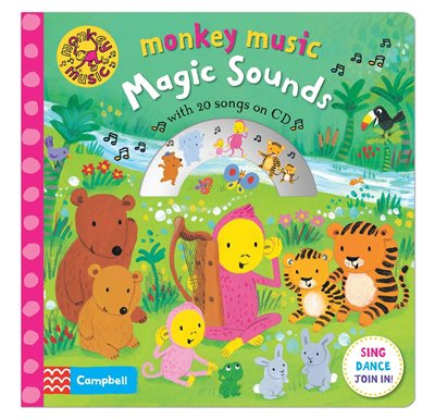 Book cover for Monkey Music Magic Sounds